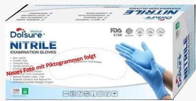 Nitril Handschuhe für Kliniken und Pflege