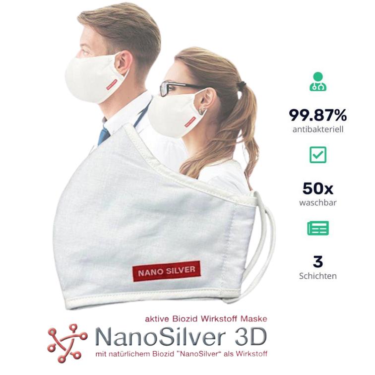 NanoSilver 3D Schutzmaske